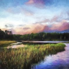 End Of The Day - Landscape Art by Jordan Blackstone jordan-blackstone.artistwebsites.com