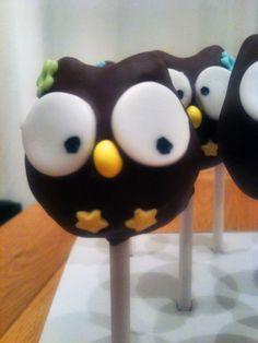 The Cake Escape: Owl Cake Pops