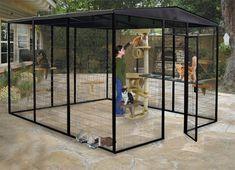 Suncatcher-Walk-In-Outdoor-Cat-Enclosures-Cat-Cages-Cat-Condos- 10.5-x-12-Foot-Diameter-Cat-Enclosure