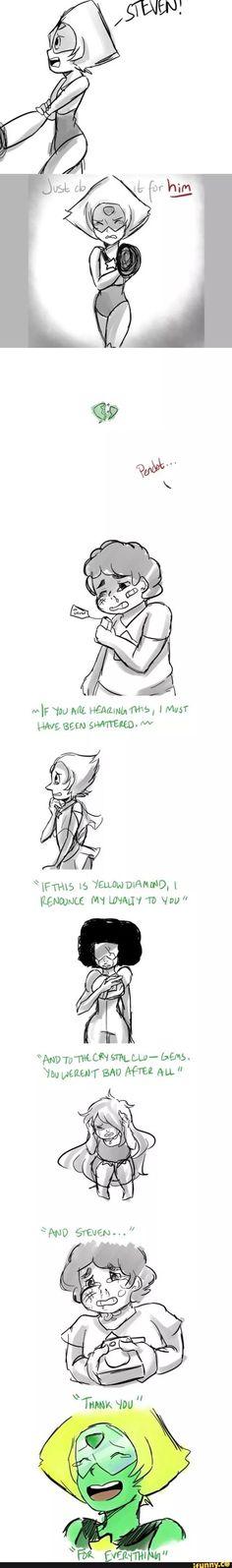 true, tumblr, stevenuniverse, sad, peridot: