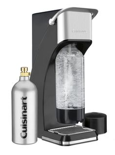 Cuisinart Sparkling Beverage Maker with Cartridge and Easy Single Pump Operation with Removable Drip Tray and 1 FREE Reusable BPAFree Bottle Sleek Stylish Red Finish ** Continue to the product at the image link. (This is an affiliate link) Small Kitchen Appliances, Cool Kitchens, Kitchen Small, Kitchen Stuff, Kitchen Dining, Kitchen Ideas, Best Soda, Drip Tray, Specialty Appliances