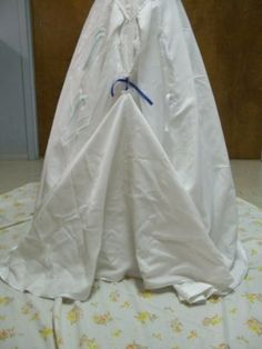 Step by step one and three point bustle instructions