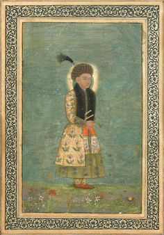 A PORTRAIT OF A MUGHAL PRINCE BY HASHIM, ACTIVE 1620-1660