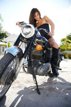 Bikes chicks on Naked biker