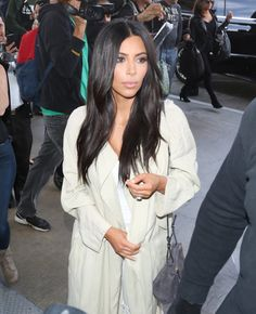 Pin for Later: The Kardashians Cause Major Mayhem After Touching Down in Armenia  Kim made her way through LAX on Tuesday.