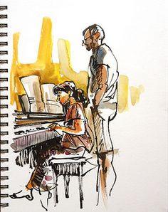 Piano Practice.