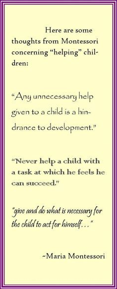 Quotes for Montessori Teachers