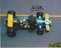 Jack Brabham/Brabham BT33/Monaco/1970 Racin' in the rain. via asaucerfulofwheels