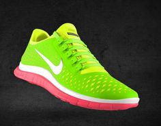Customized Nike Running Shoes.