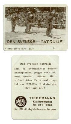 Den svenske patrulje 1930