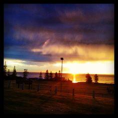 Sunset from Harvey Field