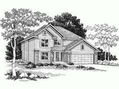 Build your ideal home with this Country house plan with 4 bedrooms(s), 3 bathroom(s), 2 story, and 2144 total square feet from Eplans exclusive assortment of house plans.