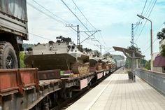 Šokovaný občan ze Slovenska natočil přesun amerických vojsk na Ukrajinu