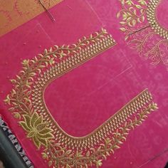 Cutwork Blouse Designs, Wedding Saree Blouse Designs, Embroidery Neck Designs, Designer Blouse Patterns, Fancy Blouse Designs, Blouse Neck Designs, Hand Work Blouse Design, Stylish Blouse Design, Maggam Work Designs