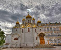 Cathedral of the Archangel in the Moscow Kremlin.