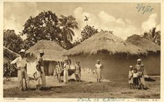 Indentured laborers, Trinidad