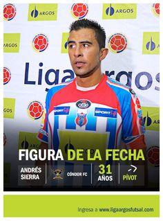 Andrés Sierra, de Cóndor Sport Life, figura de la tercera fecha.