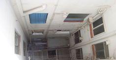 Instalación de ascensor comunitario en finca existente con modificación de instalación de agua y electricidad y remodelación de vestíbulo.