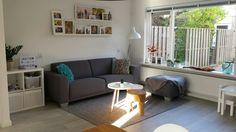 #kwantuminhuis en #woonexpressinhuis. De woonkamer wordt steeds mooier!