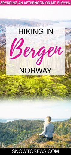 Looking for memorable things to do in Bergen Norway? Discover some of the area's most impressive views by hiking up and around Bergen's Mt. Europe Travel Tips, European Travel, Travel Destinations, Backpacking Europe, Travel Guides, Jotunheimen National Park, Visit Bergen, Outdoor Reisen, Norway Travel