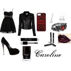 Caroline by forbz on Polyvore featuring polyvore, fashion, style, Boohoo, IRO, Casadei and Butter London