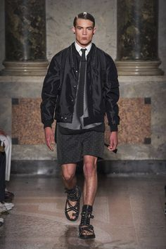 Les Hommes Spring-Summer 2017 - Milan Fashion Week #MFW