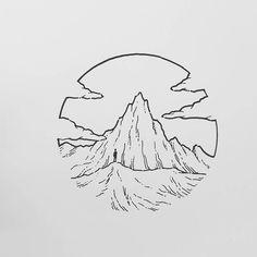 Mini Drawings, Pencil Art Drawings, Cool Art Drawings, Doodle Drawings, Doodle Art, Easy Drawings, Animal Drawings, Tattoo Drawings, Drawing Sketches