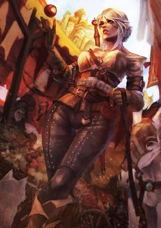 The Witcher Art, The Witcher Wild Hunt, The Witcher Geralt, The Witcher Books, Fantasy Character Design, Character Art, Witcher Wallpaper, Yennefer Of Vengerberg, Fantasy Warrior