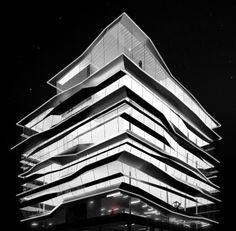 Suzhou Creek Performing Arts Center, by Alex Diebalek, 2014