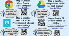 How to Create a Digital Portfolio Folder With QR Code Link