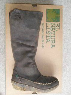 El Naturalista N382 'Funghi' Brown Leather Full Length Boots