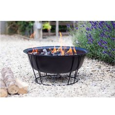 Buy La Hacienda Steel Firepit at Argos. Thousands of products for same day delivery or fast store collection. Fire Pit Bowl, Fire Bowls, Garden Fire Pit, Diy Fire Pit, Bonfire Pits, Artisan Pizza, Pizza Oven Outdoor, Fish And Meat, Camping Style