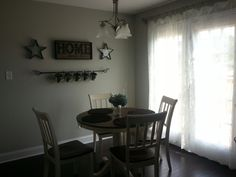 Another view of our kitchen scene. -Picture Only