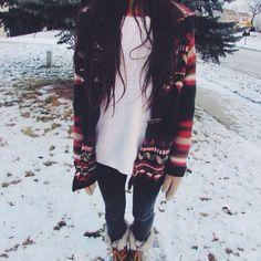 Double up on your sweaters.   IG: tifnog #coasttocoastchallenge | Sweater Weather