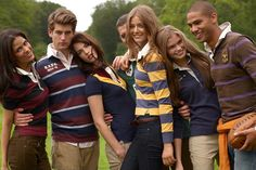 Ralph Lauren Rugby Fall/Winter 2011 Campaign