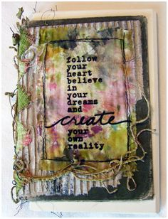 Follow Journal by Roben-Marie Smith aka Robes-Pierre, via Flickr. Featured in the 2012 Prima Marketing Idea Book
