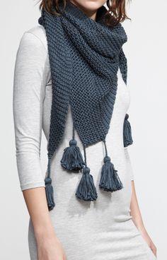 Fall Wardrobe- Tassel scarf