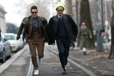 The Best Street Style Moments From Men's Fashion Weeks 2015 | The ...