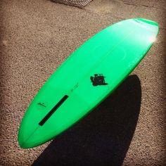 PRZ SURFBOARDS — R A F I K I  M O D E L // Single 6'4 green #tint &...