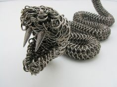 rattle snake by Borealis Metal Works