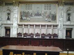 Wisconsin State Supreme Court chamber Supreme Court, My Dream Home, Wisconsin, Architecture, Building, Construction, My Dream House, Buildings, Architecture Illustrations