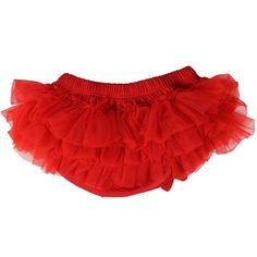 juDanzy Red Tutu Diaper Cover