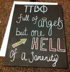 Pi Beta Phi- Full of angels, but one HELL of a sorority! #piphi #pibetaphi