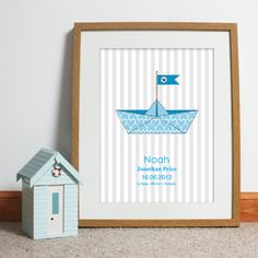 Bespoke #gift ideas: personalised #poster design for boys