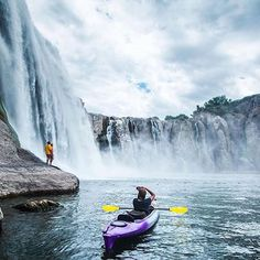 Shoshone Falls Idaho Photo by @huckculture www.armor-x.com #armorx #kayak #kayaking #water #slide #sport #waves #adventurer #life #lifestyle #row #rowing #marine #trek #now #gopro #extreme