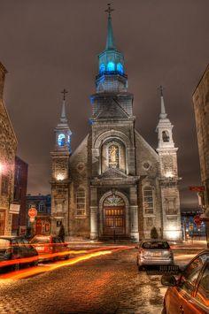 Chapelle Notre-Dame-de-Bon-Secours, Montreal, Quebec, Canada