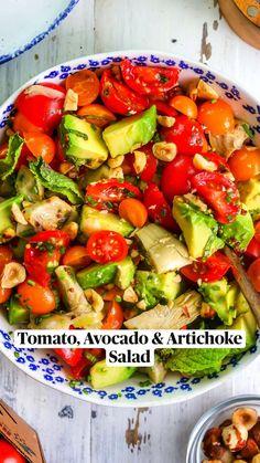 Clean Recipes, Low Carb Recipes, Diet Recipes, Vegetarian Recipes, Cooking Recipes, Healthy Recipes, Best Salad Recipes, Whole Food Recipes, Cucumber Recipes