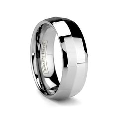8b7f0887b96713 BLADE 6MM/8MM Tungsten Carbide Wedding Band with Unique Pointed Design  Tungsten Mens Rings,