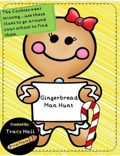 ... ) - Gingerbread Man Story Activity Gingerbread Man Hunt Printables