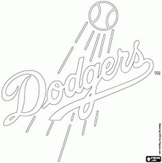 Los Angeles Dodgers SVG PNG Logo Vector Cut File